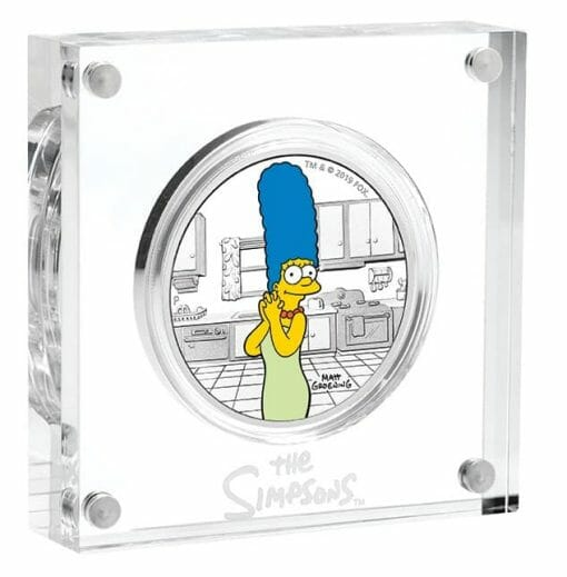 2019 The Simpsons - Marge Simpson 1oz .9999 Silver Proof Coin 2