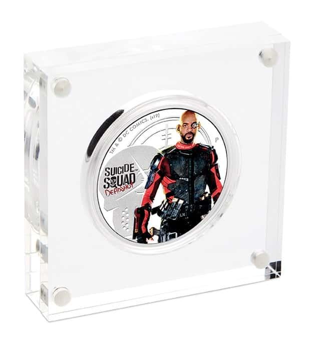 2019 Suicide Squad - Deadshot 1oz .9999 Silver Proof Coin 5