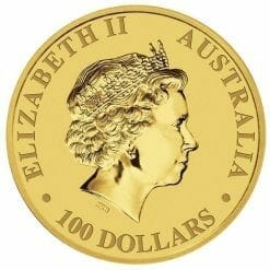 2010 Australian Kangaroo 1oz .9999 Gold Bullion Coin 3