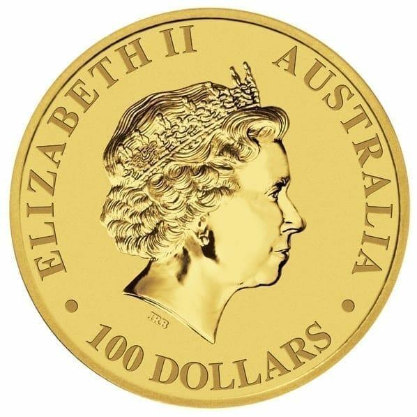 2010 Australian Kangaroo 1oz .9999 Gold Bullion Coin 2