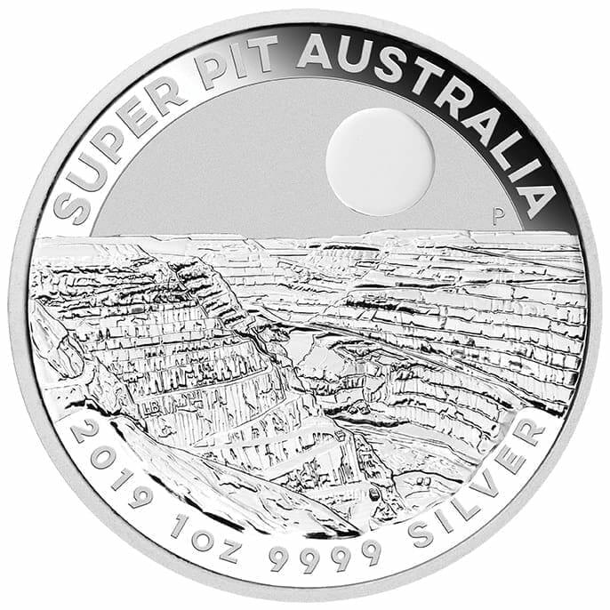 2019 Super Pit 1oz .9999 Silver Bullion Coin 1
