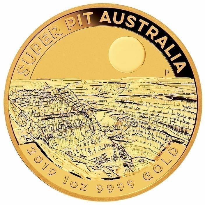 2019 Super Pit 1oz .9999 Gold Bullion Coin 1