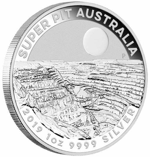 2019 Super Pit 1oz .9999 Silver Bullion Coin 3