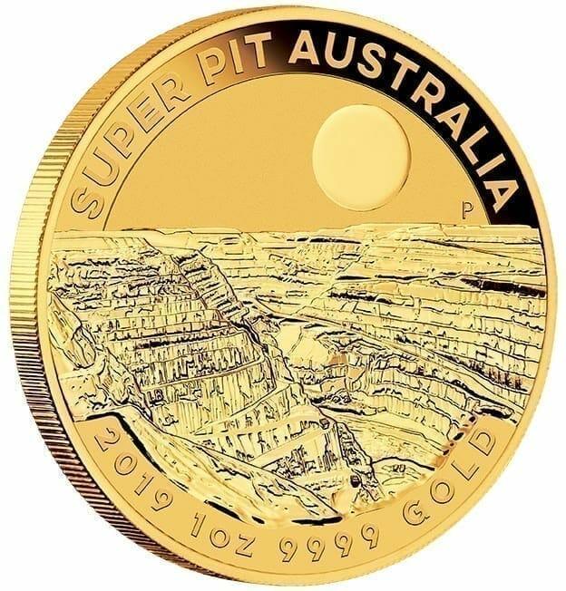 2019 Super Pit 1oz .9999 Gold Bullion Coin 2