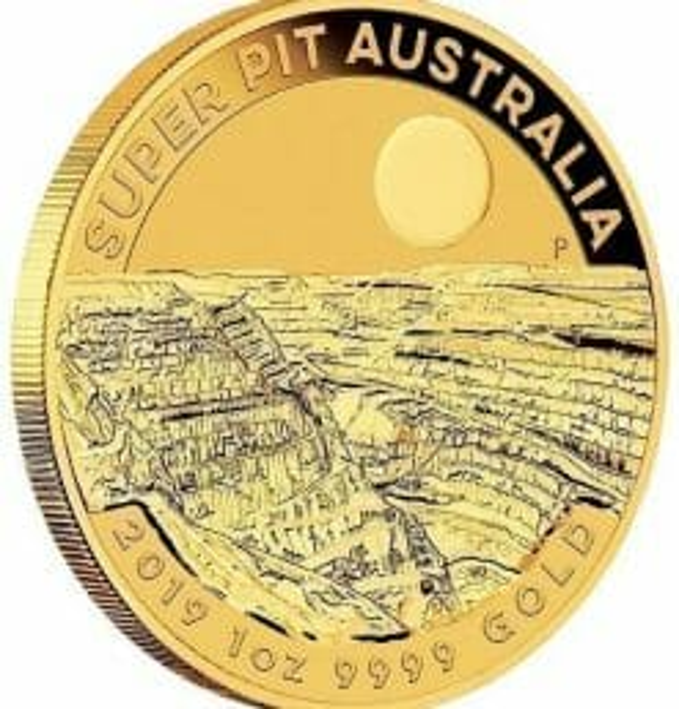 2019 Super Pit 1oz .9999 Gold Bullion Coin 5