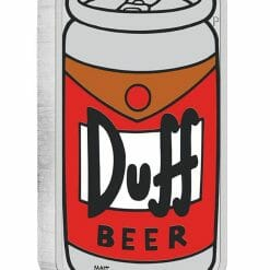 2019 The Simpsons - Duff Beer 1oz .9999 Silver Proof Coin 7