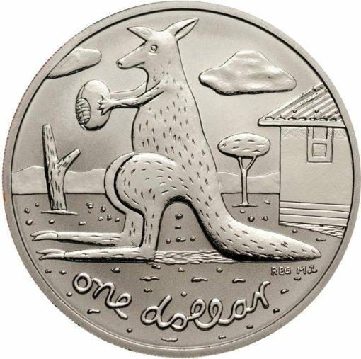 2008 Red Mombassa Kangaroo 1oz 999 Silver Proof Coin 1