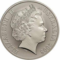 2008 Red Mombassa Kangaroo 1oz 999 Silver Proof Coin 3