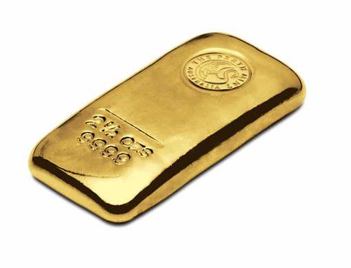 Perth Mint 2.5oz .9999 Gold Cast Bullion Bar 2