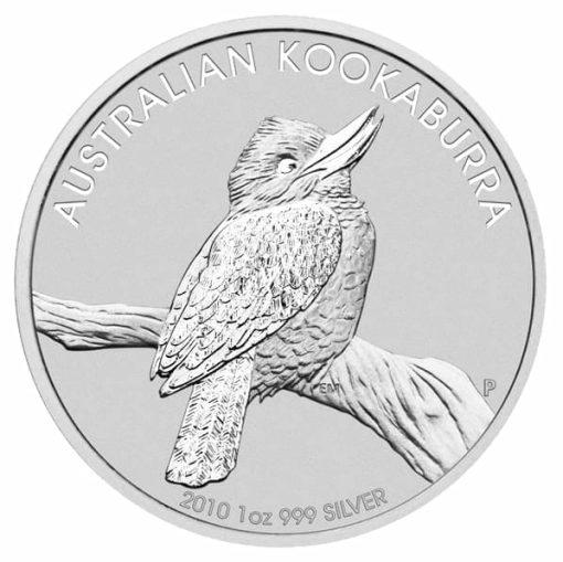 2010 Australian Kookaburra 10oz .999 Silver Bullion Coin 1