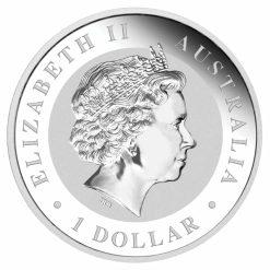 2010 Australian Kookaburra 10oz .999 Silver Bullion Coin 3