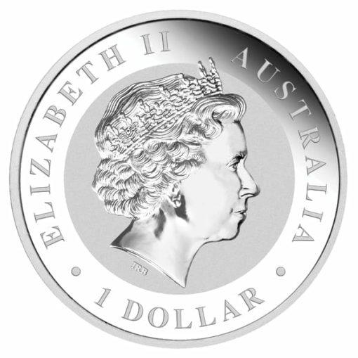 2010 Australian Kookaburra 10oz .999 Silver Bullion Coin 2