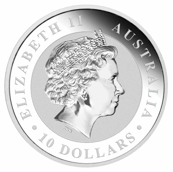 2012 Australian Koala 10oz .999 Silver Bullion Coin 2