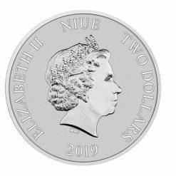 2019 Disney Lion King - 25th Anniversary 1oz .999 Silver Bullion Coin 7