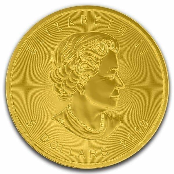 2019 Halloween Maple Leaf Coloured 1oz .9999 Silver Coin 5