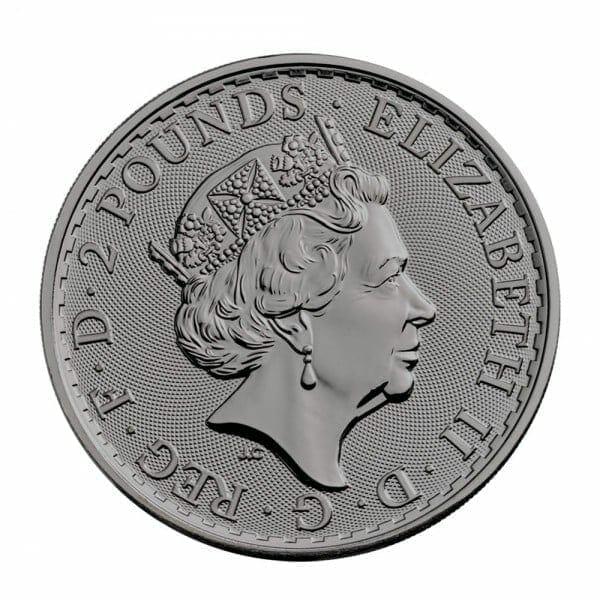 2019 Charlie Chaplin Britannia Black Ruthenium 1oz .999 Silver Coin 2