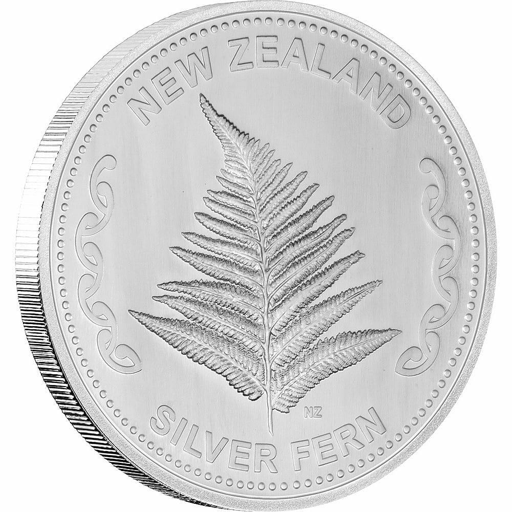 Silver Fern 1oz .999 Silver Bullion Round 2