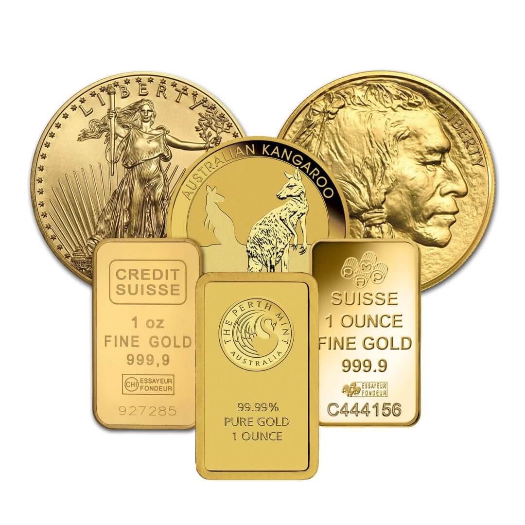 Low Premium 1oz Gold Bullion 1