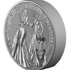 2019 The Allegories - Britannia & Germania 2oz .9999 Silver Coin 7