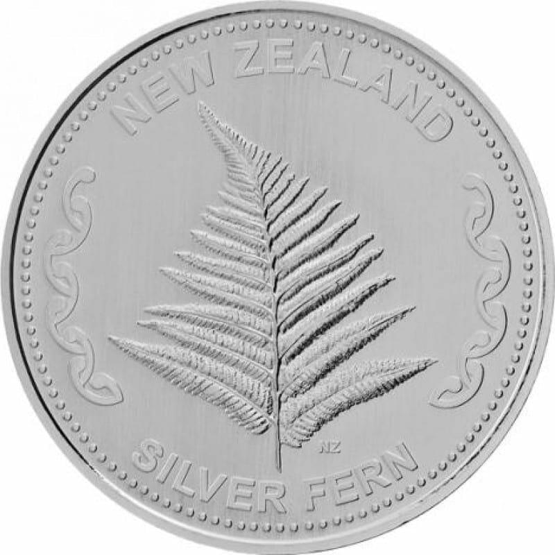 Silver Fern 1oz .999 Silver Bullion Round 1