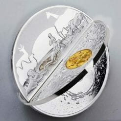 2019 Creation of the World 3D 2oz .999 Silver Proof Coin 11