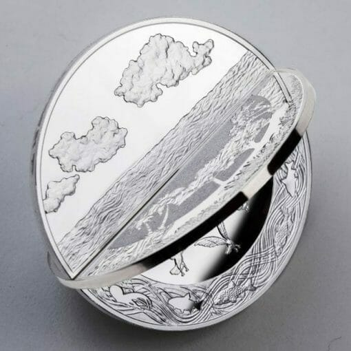 2019 Creation of the World 3D 2oz .999 Silver Proof Coin 6