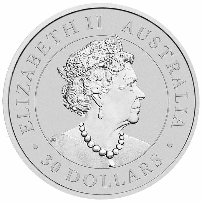 2020 Australian Koala 1kg .9999 Silver Bullion Coin 5