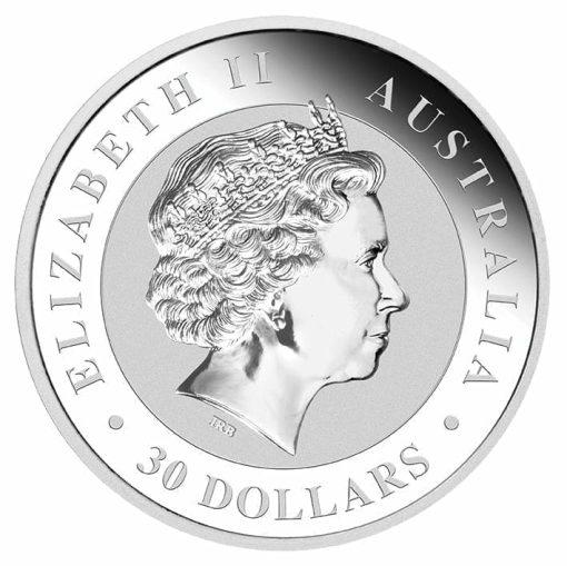 2018 Australian Kookaburra 1kg .9999 Silver Bullion Coin 3