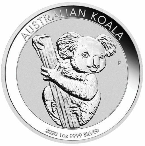 2020 Australian Koala 1oz .9999 Silver Bullion Coin 1