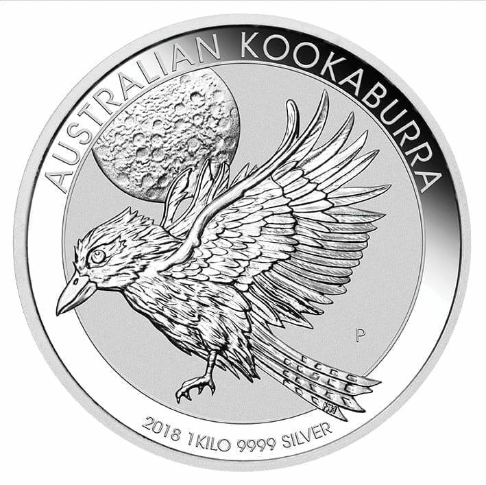 2018 Australian Kookaburra 1kg .9999 Silver Bullion Coin 1