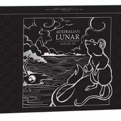 2020 Year of the Mouse 3 Coin Silver Proof Set - Lunar Series III 15