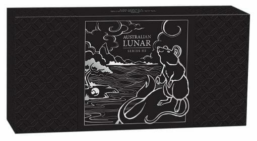 2020 Year of the Mouse 3 Coin Silver Proof Set - Lunar Series III 8