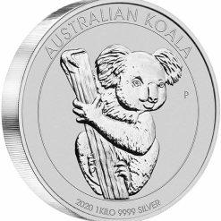 2020 Australian Koala 1kg .9999 Silver Bullion Coin 4