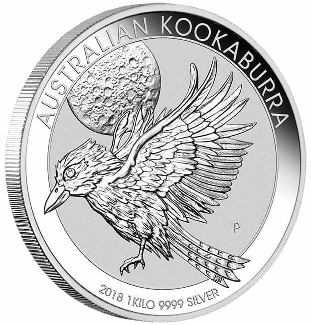 2018 Australian Kookaburra 1kg .9999 Silver Bullion Coin 2