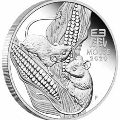 2020 Year of the Mouse 1oz .9999 Silver Proof Coin - Lunar Series III 7