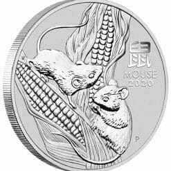 2020 Year of the Mouse 1/2oz .9999 Silver Bullion Coin - Lunar Series III 4