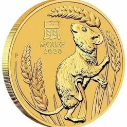 2020 Year of the Mouse 1oz .9999 Gold Bullion Coin - Lunar Series III 4