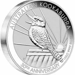 2020 Australian Kookaburra 1kg .9999 Silver Bullion Coin - 30th Anniversary 4