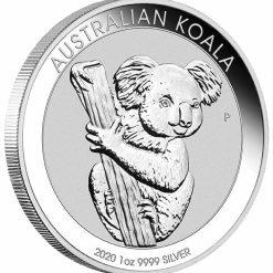 2020 Australian Koala 1oz .9999 Silver Bullion Coin 4
