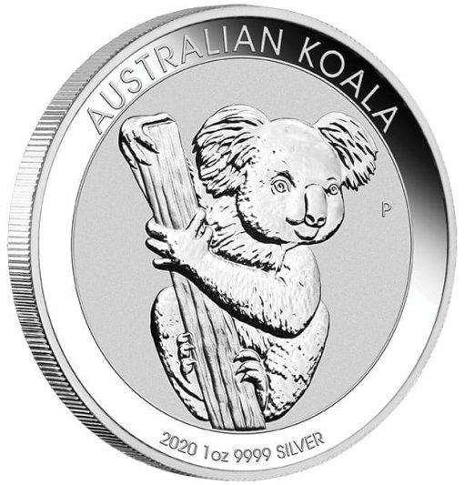 2020 Australian Koala 1oz .9999 Silver Bullion Coin 2