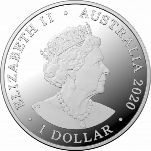 2020 Redback Spider 1oz Silver Bullion Coin 2