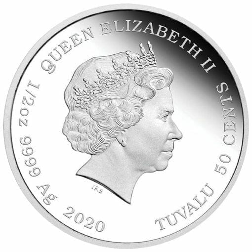2020 Baby Mouse 1/2oz .9999 Silver Proof Coin 4