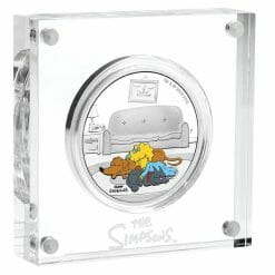 2019 The Simpsons - Maggie Simpson 1oz .9999 Silver Proof Coin 6