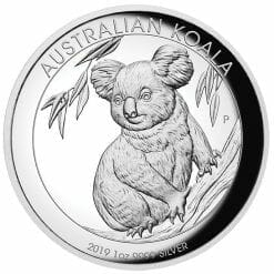 2019 Australian Animals 1oz .9999 High Relief Silver Proof 3 Coin Collection 12