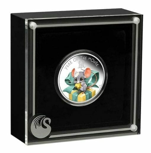 2020 Baby Mouse 1/2oz .9999 Silver Proof Coin 2