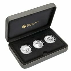 2019 Australian Animals 1oz .9999 High Relief Silver Proof 3 Coin Collection 14