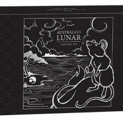 2020 Year of the Mouse 3 Coin Silver Trio Set - Lunar Series III 21