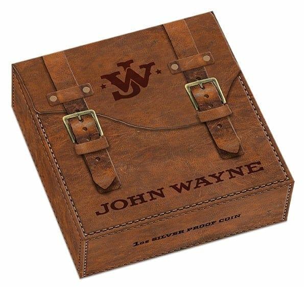2020 John Wayne 1oz .9999 Silver Proof Coin 9