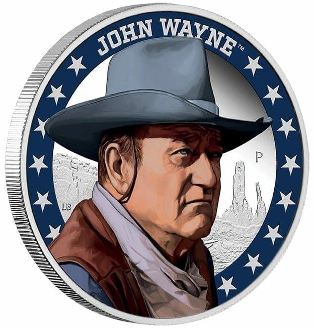 2020 John Wayne 1oz .9999 Silver Proof Coin 7
