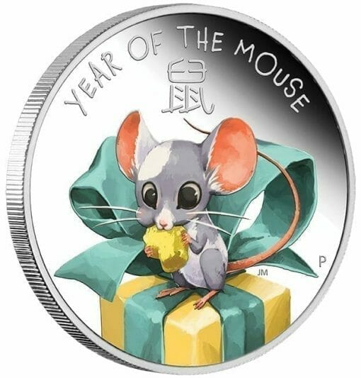 2020 Baby Mouse 1/2oz .9999 Silver Proof Coin 3
